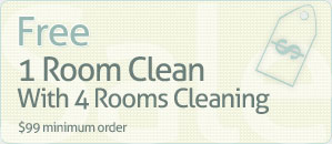 1 room Clean Coupons