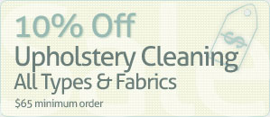Upholstery Cleaning Coupons
